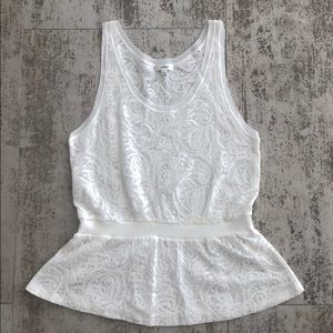 White summer top